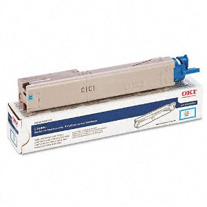 Okidata 43459303 Cyan Toner Cartridge