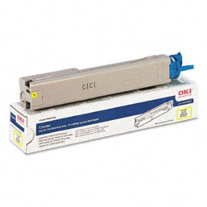 Okidata 43459401 Yellow Toner Cartridge