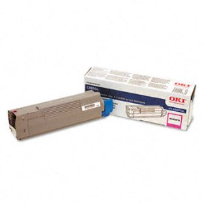 Okidata 43487734 Magenta Toner Cartridge