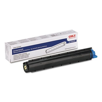 Okidata 43640301 Black Toner Cartridge