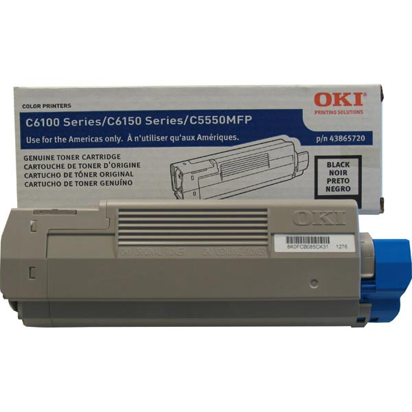 Okidata 43865720 Black Toner Cartridge