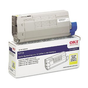 Okidata 43866101 Yellow Toner Cartridge