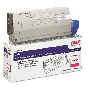 Okidata 43866102 Magenta Toner Cartridge