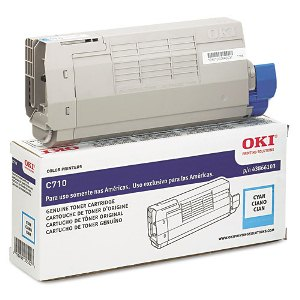 Okidata 43866103 Cyan Toner Cartridge