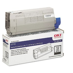 Okidata 43866104 Black Toner Cartridge