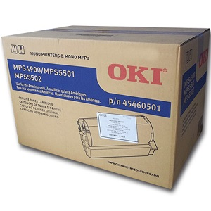 Okidata 45460501 Black Toner Cartridge