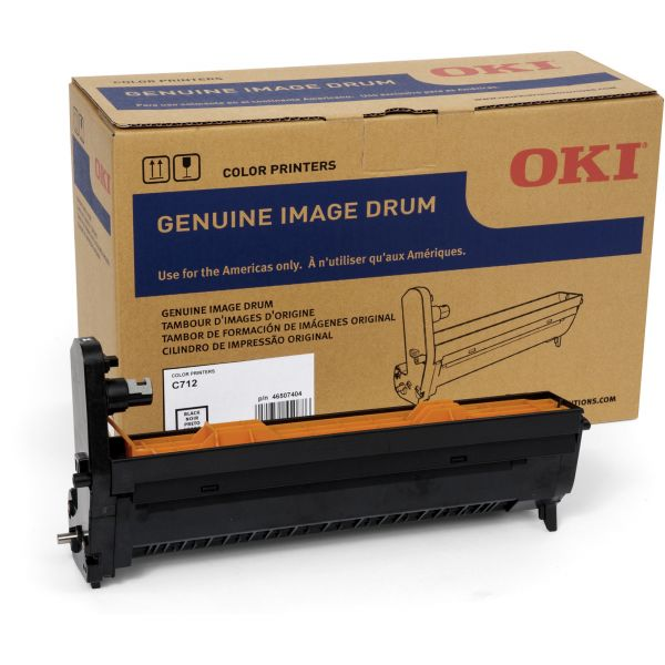 Oki 46507404 Black Image Drum