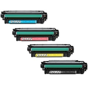 Compatible HP 504X Toner Cartridge Set