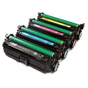 Compatible HP 507 Toner Cartridge Set