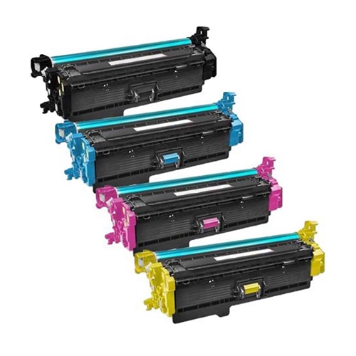 Compatible HP 508X Toner Cartridge Set