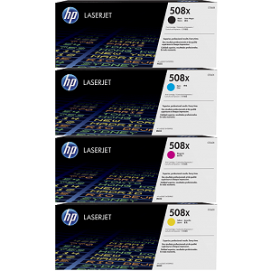 HP 508X Toner Cartridge Set