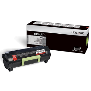 Lexmark 50F0HA0 Black Toner Cartridge