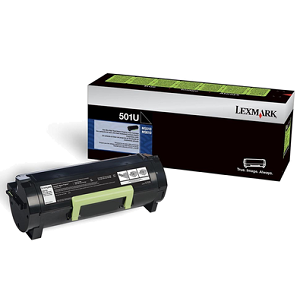 Lexmark 50F1U00 Black Toner Cartridge