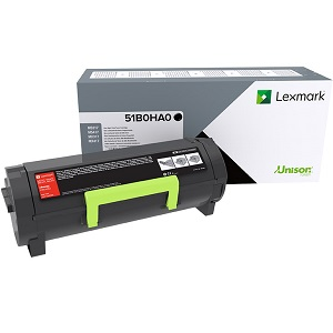 Lexmark 51B0HA0 Black Toner Cartridge