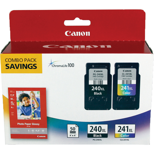 Canon PG-240XL CL-241XL with GP502