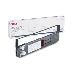 Okidata 52103601 Black Ribbon Cartridge
