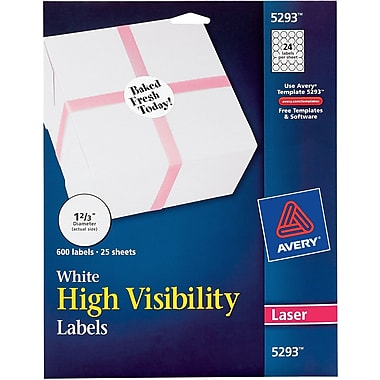 Avery 5293 Labels