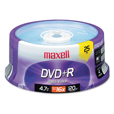 Maxell 639011 DVD+R High-Speed Recordable Disc