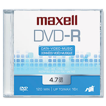 Maxell 638000 DVD-R Disc