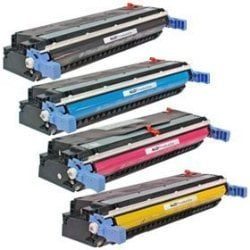 Compatible HP 645A Toner Cartridge Bundle
