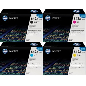 HP 642A Toner Cartridge Bundle