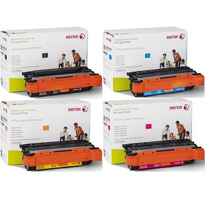 Compatible HP 646 Toner Cartridge Bundle