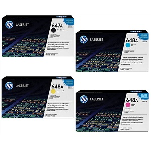 HP 647 Toner Cartridge Set