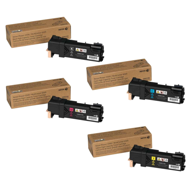 Xerox 6500 Toner Cartridge Set