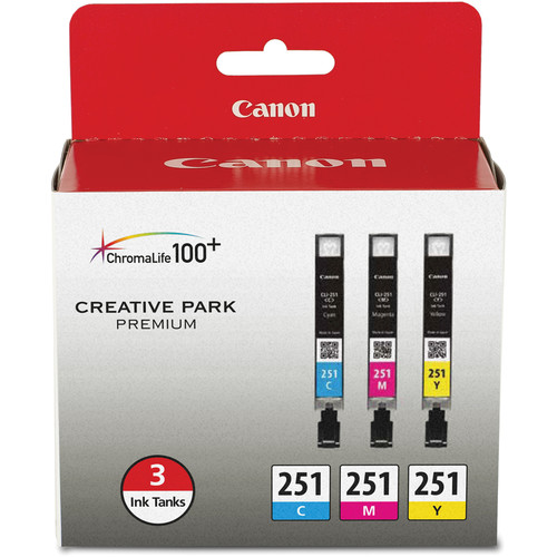 Canon CLI-251 Color Value Pack