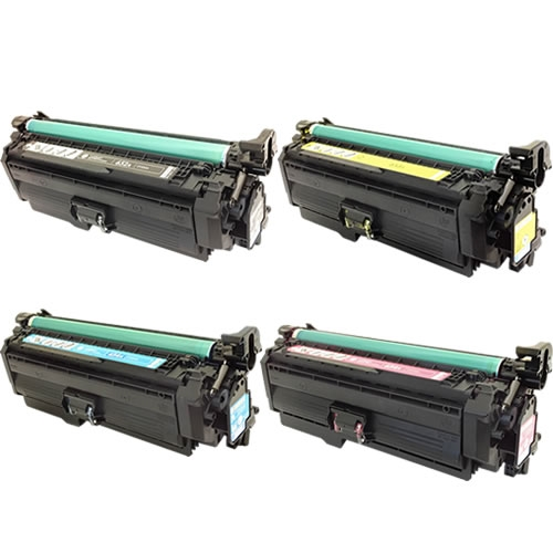 Compatible HP 654 Toner Cartridge Set