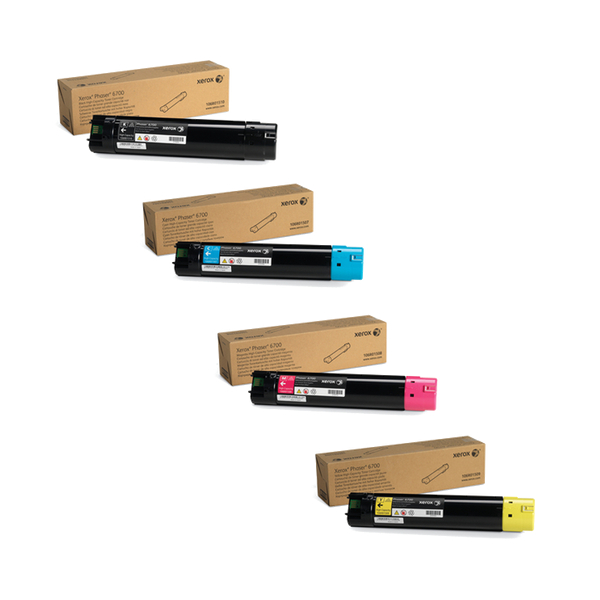 Xerox 6700 High Yield Toner Cartridge Set