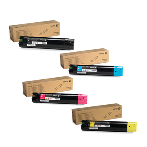 Xerox 6700 Toner Cartridge Set