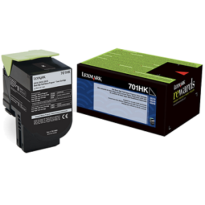 Lexmark 70C1HK0 Black Toner Cartridge