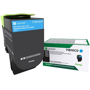 Lexmark 71B10C0 Cyan Toner Cartridge