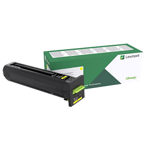 Lexmark 72K1XY0 Yellow Toner Cartridge