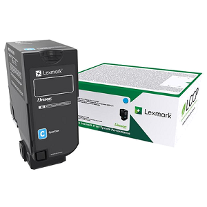 Lexmark 74C10C0 Cyan Toner Cartridge