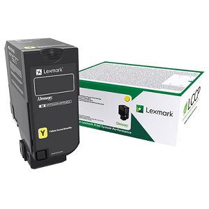 Lexmark 74C1HY0 Yellow Toner Cartridge