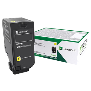 Lexmark 74C1SY0 Yellow Toner Cartridge
