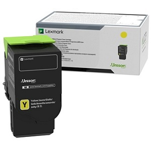 Lexmark 78C0U40 Yellow Toner Cartridge
