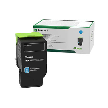 Lexmark 78C10C0 Cyan Toner Cartridge