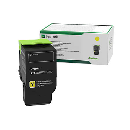 Lexmark 78C1UY0 Yellow Toner Cartridge