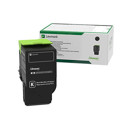 Lexmark 78C1XK0 Black Toner Cartridge