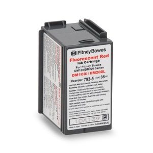 Compatible Pitney Bowes 793-5 Red Ink Cartridge
