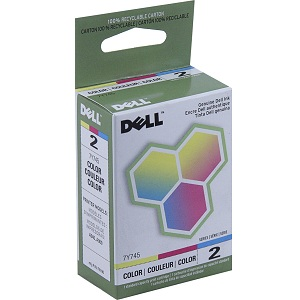 Dell 7Y745 Color Ink Cartridge