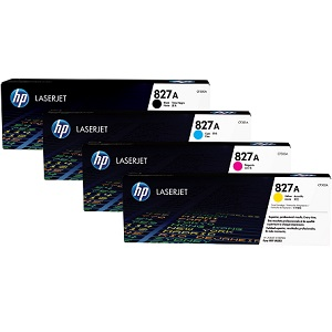 HP 827A Toner Cartridge Set