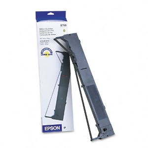 Epson 8766 Black Ribbon Cartridge