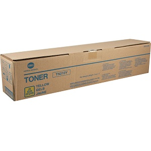 Konica Minolta TN210Y Yellow Toner Cartridge