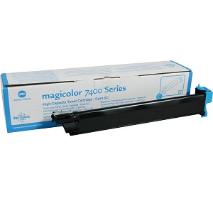 Konica 8938616 Cyan Toner Cartridge