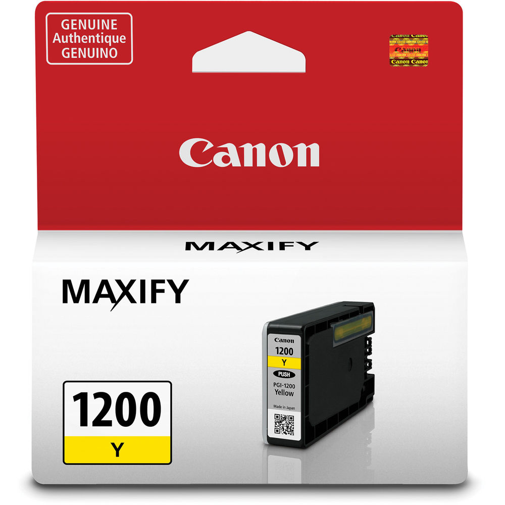 Canon PGI-1200 Yellow Ink Cartridge