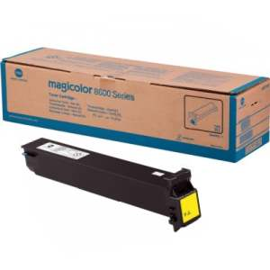 Konica Minolta A0D7233 Yellow Toner Cartridge
